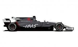 Haas VF-17 gets a revised livery for Monaco