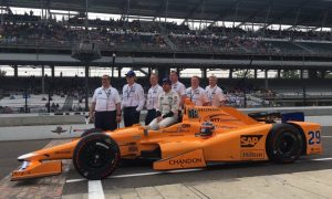 McLaren sponsors get a free ride at Indy