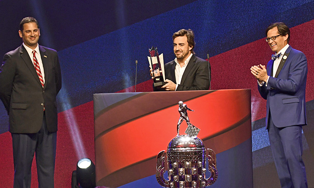 Fernando Alonso, Indy 500 Rookie of the Year
