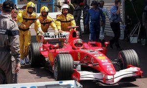 Not Michael Schumacher's finest moment