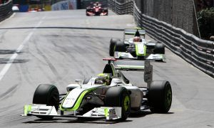 Jenson buttons down for clean-sweep Brawn win