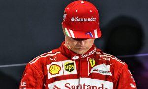 'Second doesn't feel awfully good' - Raikkonen