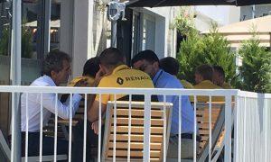 Rencontre entre le manager d'Alonso et Renault à Bakou