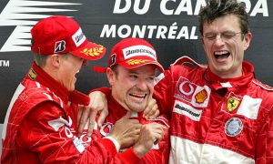 Lucky sevens for Michael Schumacher in 2004