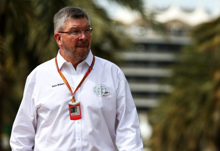 Ross Brawn (GBR) Formula 1Managing Director of Motorsport