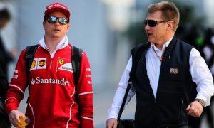 Raikkonen plays second fiddle at Ferrari, says Mika Salo