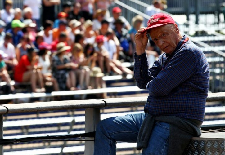 F1 legend Niki Lauda hospitalized for lung transplant surgery