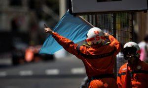 Blue flag trigger point changed for Baku