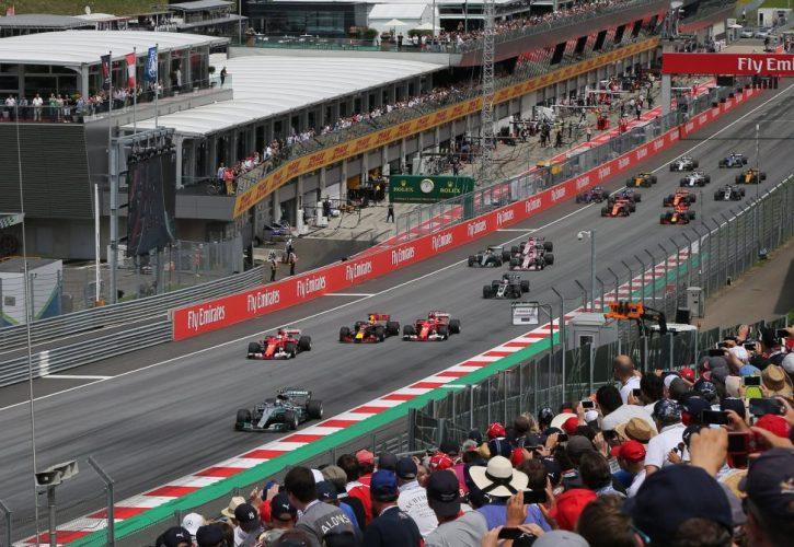 Austrian GP Race Start