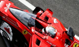 Vettel reports 'blurry view' behind impenetrable shield