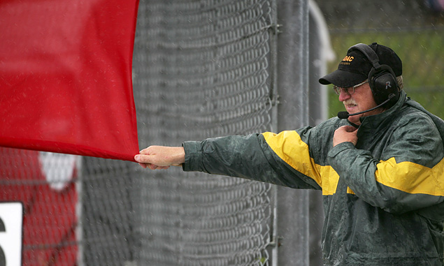 Red Flag at the 2007 European Grand Prix