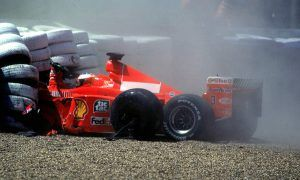 When Schumacher reached a painful breaking point