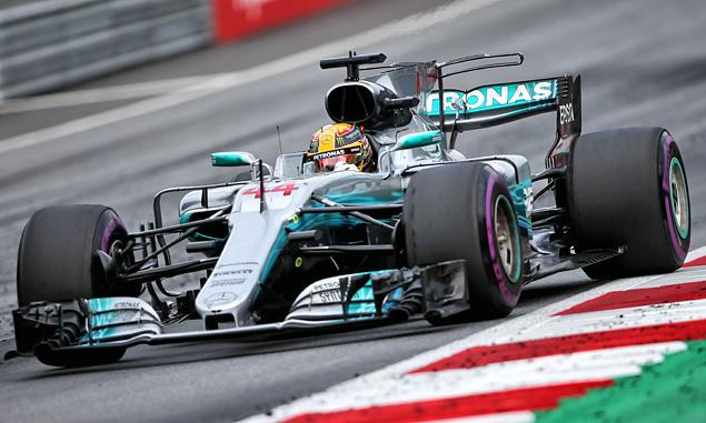 Lewis Hamilton, Mercedes, Austrian Grand Prix