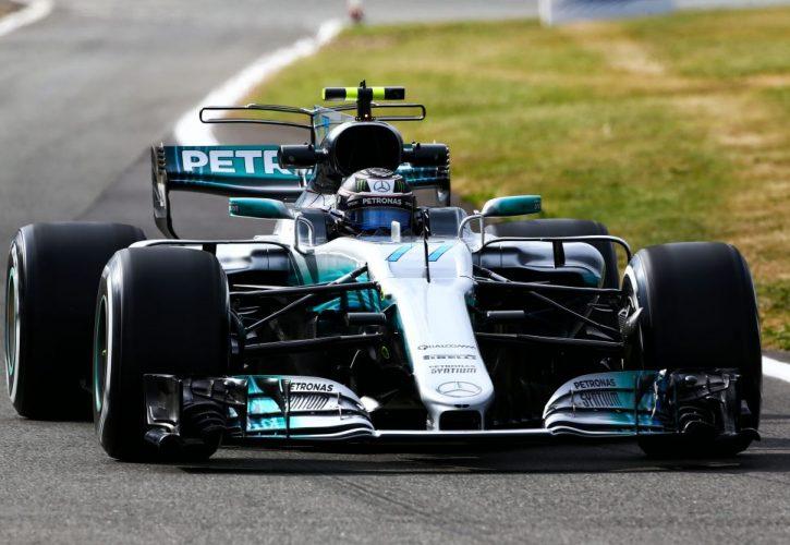 Valtteri Bottas Silverstone First Practice