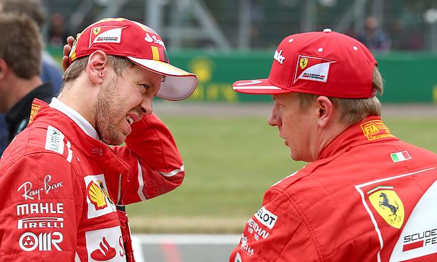 Ferrari, Sebastian Vettel, Kimi Raikkonen, British Grand Prix, Silverstone
