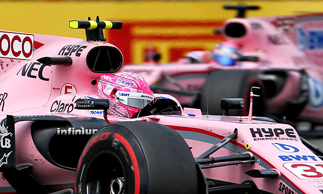 Esteban Ocon, Force India, British Grand Prix