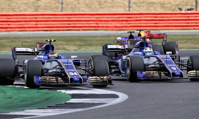 British Grand Prix, Pascal Wehrlein, Marcus Wehrlein, Sauber