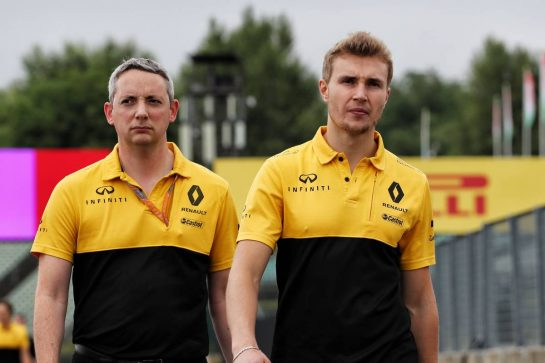 Sergey Sirotkin (RUS) Renault Sport F1 Team Third Driver walks the circuit. 27.07.2017. Formula 1 World Championship, Rd 11, Hungarian Grand Prix, Budapest, Hungary, Preparation Day. - www.xpbimages.com, EMail: requests@xpbimages.com - copy of publication required for printed pictures. Every used picture is fee-liable. © Copyright: Photo4 / XPB Images