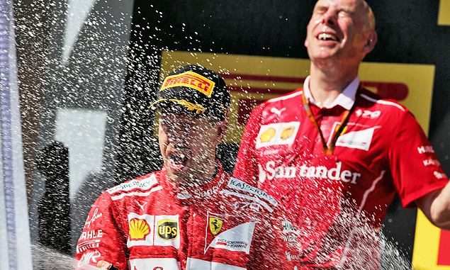 Sebastian Vettel, Ferrari, Hungarian Grand Prix