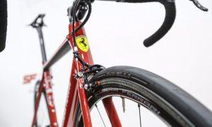 An exciting 'Bianchi for Scuderia Ferrari' road bike