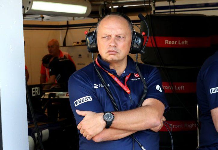Frederic Vasseur (FRA) Managing Director, Sauber