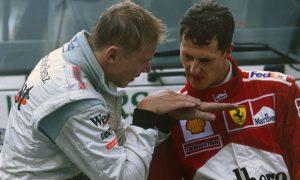 Ce que Schumacher a répondu à Häkkinen à Spa en 2000
