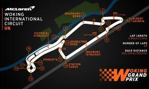 McLaren dreams up its own home race, in Woking!