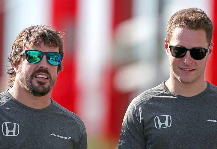 Fernando Alonso and Stoffel Vandoorne, McLaren