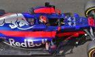 Carlos Sainz, Toro Rosso, Hungaroring test, August 2017