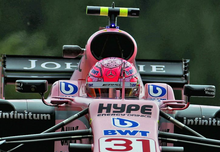 Esteban Ocon, Force India, Belgian Grand Prix
