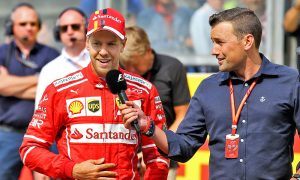 Vettel on front row at Spa, with help from Raikkonen