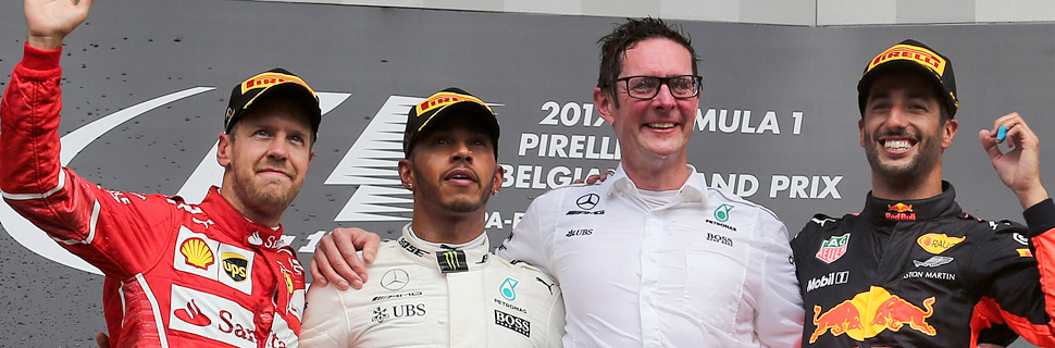 Belgian Grand Prix - podium