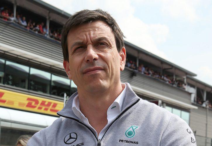 Toto Wolff, Mercedes team principal, Belgian Grand Prix