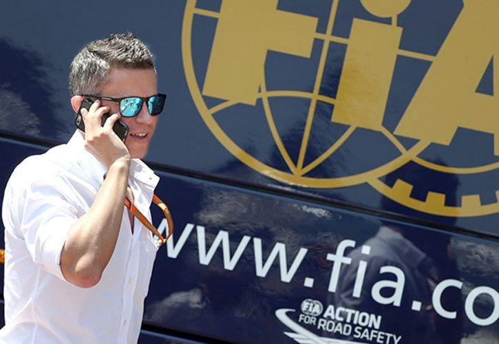 Marcin Budkowski, former head of the FIA's Formula 1 technical department