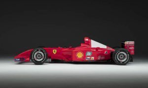 Sotheby's to auction rare ex-Schumacher winning Ferrari F2001