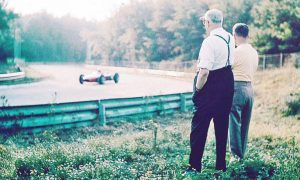 The Commendatore watches from the Monza parklands