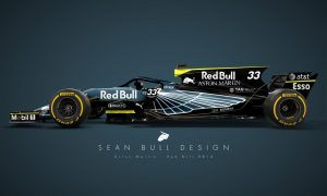 Photos : quelle livrée pour Aston Martin Red Bull Racing en 2018 ?