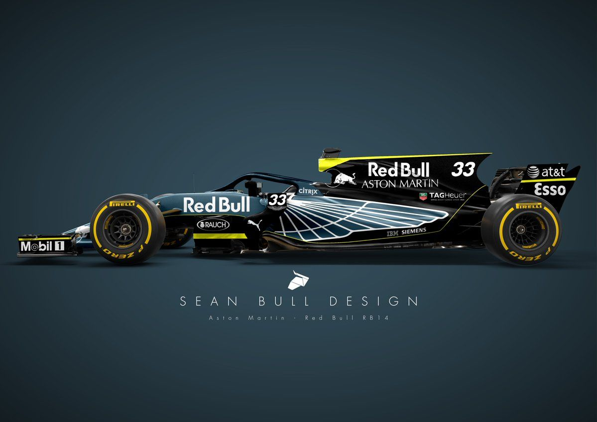 Pick Your Favourite Aston Martin Red Bull Racing Livery