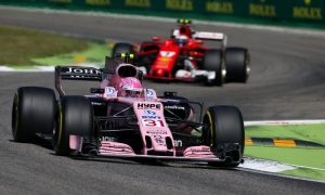 Podium finish still out of reach for Ocon
