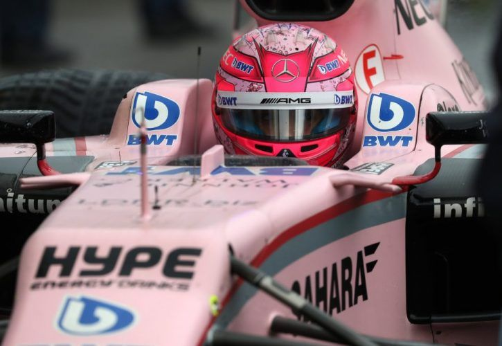 Esteban Ocon, Force India, Italian Grand Prix