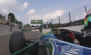 Great onboard footage of Mick Schumacher in his father's Benetton!