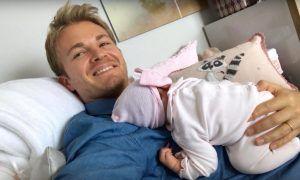 Nico Rosberg welcomes Naila into the family!