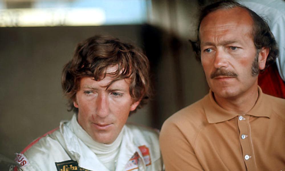 1970 Formula 1 world champion Jochen Rindt at Monza