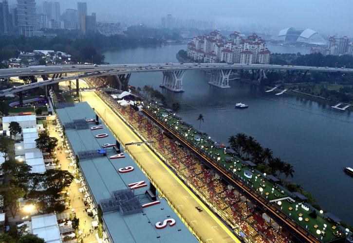 Le record du tour de Vettel à Singapour