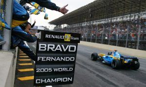 Alonso becomes youngest ever F1 world champion