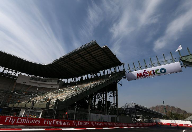 Mexico City F1 Earthquake