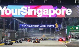 Formula 1 extends Singapore contract to 2021