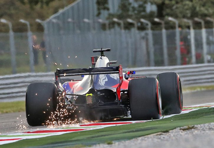 Daniil Kvyat, Toro Rosso, Italian Grand Prix