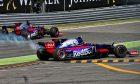 Carlos Sainz, Daniil Kvyat - Toro Rosso, Italian Grand Prix