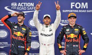 Hamilton clinches pole record in rain-hit Monza qualifying